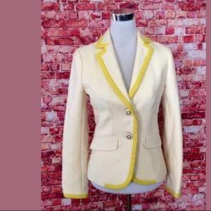 J Crew Women's Wool Lexington Jacket Blazer 85798
